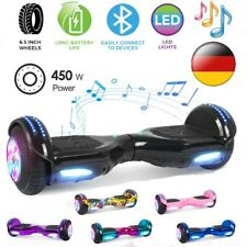 6,5 Zoll Hoverboard Elektro Scooter LED Balance Roller Balancing E-Skateboard