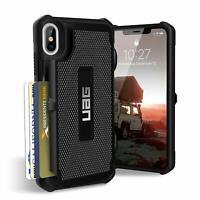 Urban Armor Gear (UAG) iPhone XS Max Trooper Tough Card Case Cover Black
