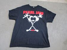VINTAGE Pearl Jam Alive Shirt Adult Extra Large Black Band Tour Rock Seattle Men