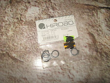 Vintage RC Helicopter Hirobo S-12 Stop Ring Rings (5) 2508-003
