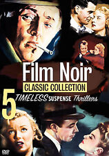 FILM NOIR: Classic Collection - ROBERT MITCHUM - DICK POWELL (5-DVD's) LIKE NEW
