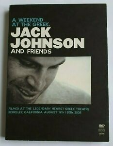 Jack Johnson A Weekend at the Greek + Live in Japan - 2 Disc PAL DVD R4 VGC
