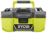 RYOBI Wet Dry Vacuum Accessory Storage Cleaner Vac 18 Volt 3 Gallon Project 18V