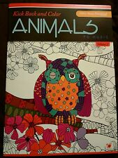 COLOR Animals To Music Adult Coloring Book Vol 1 Free Music Cats dogs elephants