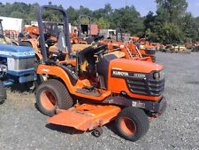 "2001 Kubota BX1800D Sub-compact tractor with 60"" mid mounted mower."