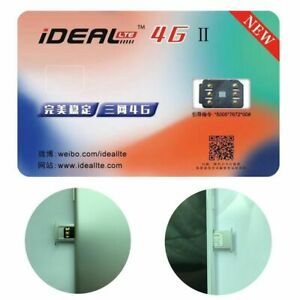 Mobile Sim Card Sticker Smart IC Perfect Unlock Turbo IDEAL 4G Ⅱ For IPhone
