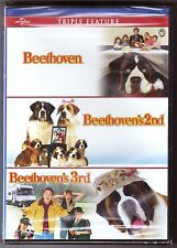 Beethoven Collection 1, 2 & 3 DVD Movie Triple Feature BRAND NEW