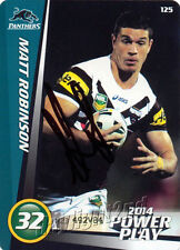 ✺Signed✺ 2014 PENRITH PANTHERS NRL Card ADAM DOCKER Power Play
