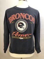 Denver Broncos Crewneck Sweatshirt - Vintage 90s - L