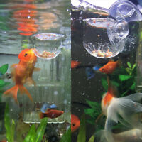 2X Feeding Cone Cup Cup Brine Shrimp Live Worm Fish Feeder for Aquariums GO9