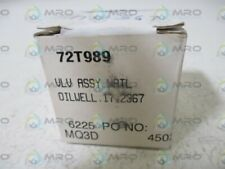 72T989 VALVE ASSEMBY * NEW IN BOX *