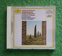 Beethoven, von Karajan, Berliner Philharmoniker - Violinkonzert / Ouvertüren CD