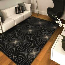 Rugs Area Rugs 8X10 Carpets Rug Large Living Room Black Gray Floor Cool 5x7 Rugs
