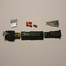DAIMLER(Set) car injector plug 1924067 2112985 0-212986-4 4F0973702A male+female