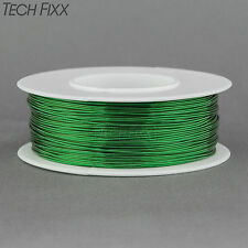 Magnet Wire 26 Gauge AWG Enameled Copper 245 Feet Coil Winding and Crafts Green