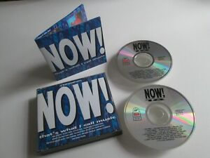 NOW 18 That's What I Call Music Dbl CD - INXS Quo Cure Kylie PIL Pet Shop Boys