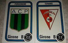 FIGURINA CALCIATORI PANINI 1980/81 SCUDETTI N° 555 ALBUM 1981