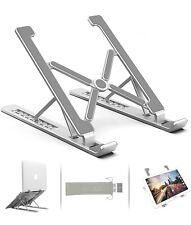 Aluminum Adjustable Laptop Stand Mount Vonluxe Foldable Portable Computer Stand