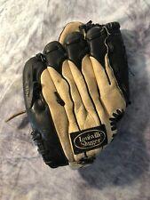"Louisville Slugger Youth Baseball glove LS1053P 10.5"" Brown & Black Leather"