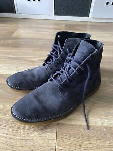 Clarks Blue Suede Desert Boots Uk11