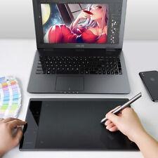 A30 Grafiktablett Zeichentablett 10x6 Zoll mit Batterie Freier Stift mit Tasche