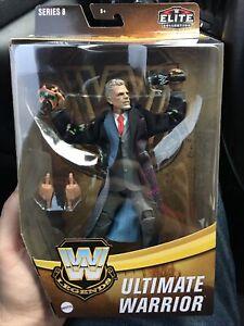 WWE Elite Legends Series 8 Ultimate Warrior Target Exclusive In Hand