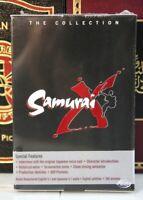 SAMURAI X THE COLLECTION OVA BOX SET RARE OOP- NEW DVD w SLIPCASE-- I SHIP BOXED