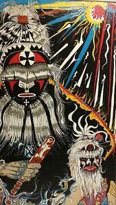 Painting - Psychedelic Shaman Mandala