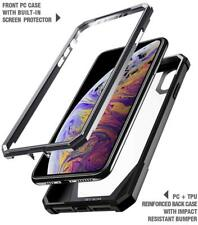 """For Apple iPhone XS Max 6.5"""" (2018) Poetic【Guardian】Shock Absorbing Case Black"""