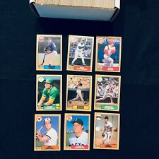 1987 O-PEE-CHEE Baseball High Grade Set (396) NM MINT Barry Bonds RC Ryan Rose