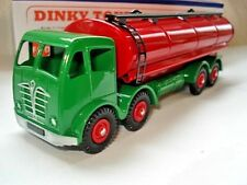 Atlas Dinky Supertoy No.504 Mk2 Foden Red + Green Fuel Tanker mint / boxed.