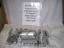 """E-Z Catch Crab Pot & Traps Lot of 30 pieces 4.5"""" Anodes Wrap in Zinc Bars 3/4 lb"""