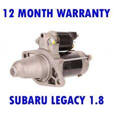 SUBARU LEGACY 1.8 2.0 1989 1990 1991 1992 1993 REMANUFACTURED STARTER MOTOR