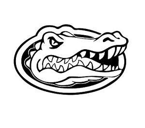 """Florida University Decal """"Sticker"""" for Car or Truck or Laptop"""