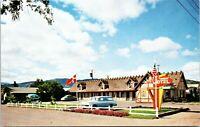 Solvang California Vintage Postcard Hamlet Motel CA Santa Ynez Valley unposted