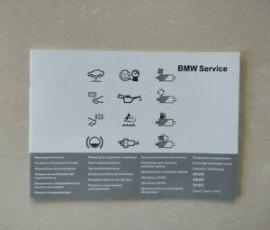 BMW SERVICE BOOK COVERS ALL 1 2 3 4 5 6 SERIES F10 F20 F30 G30 X1 X2 X3 X4 X5 X6