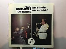 PAUL GONSALVES - Just-a-sittin' and a-rockin' ~ BLACK LION 191 [Recorded 1970]