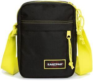 Eastpak Schultertasche Umhängetasche Bodybag Tasche »The One« Kontrast Lime