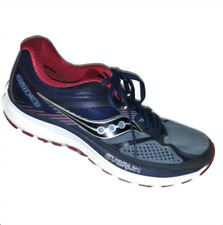 705aed9fa3c8 Saucony Guide 10 Mens Sz 9 M Women 10 Running Shoes Blue Red S20350-4