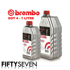 Brembo Premium Fully Synthetic Brake And Clutch Fluid Dot 4/Dot4 1L/1 Litre