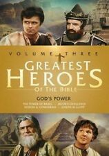 Greatest Heroes of The Bible Vol. 3 God's Power Region 1 DVD