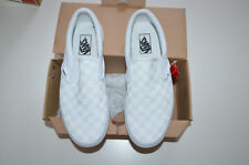 NIB MEN'S VANS Classic Slip-on SNEAKERS, Shoes, White US 9; EU 42; UK 8