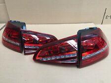 Golf R MK7 Style Rear LED Lights MK7 Led Tail lights Sliding Indicators 2013+