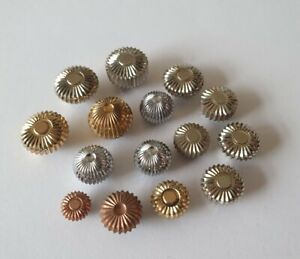 Assorted Pocket Watch Crowns x15