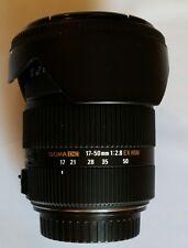 Sigma AF 17-50mm f2.8 EX DC OS HSM Lens for Canon