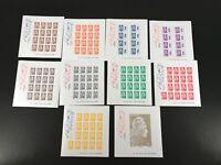 Frankreich Block 422 im Folder mit KB MiNr. 7070-78 B x postfrisch MNH (K737