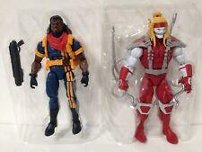 NEW Marvel Legends Deadpool Wave 2 Omega Red & BISHOP figure *NO Sauron BAF