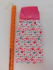 Hanging Kitchen Stove Hand Towel button top pots and pans oven valentines