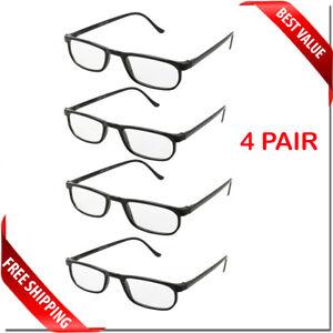 READING GLASSES LENS 2,4,8,12 PACK LOT CLASSIC READER UNISEX MEN WOMEN STYLE LOT