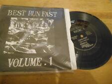 "7"" VA Punk Best Run Fast : Vol 1 (6 Song) Flexi MCR REC / JAPAN"